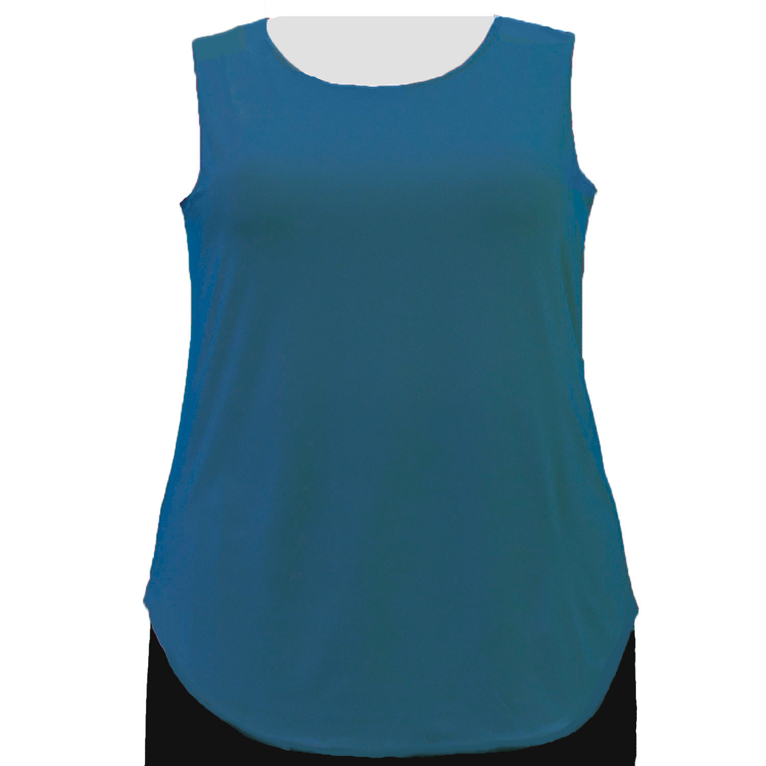 A Personal Touch Teal Tank Top Women's Plus Size Tank Top